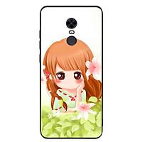 Ốp lưng nhựa cứng viền dẻo TPU cho điện thoại Xiaomi Redmi 5 Plus - Baby Girl 02