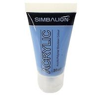 Màu Vẽ Simbalion Acrylic 30ml NAC30 - 18 - Xanh Biển Nhạt