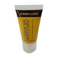 Màu Vẽ Simbalion Acrylic 30ml NAC30 - 11 - Vàng Crôm