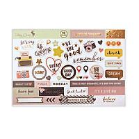 Sticker (Hình dán) siêu dày Fairy Corner Best of Friends