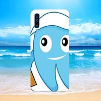 Ốp điện thoại Samsung Galaxy A7 2018/A750 - chiếc răng cute MS CRCT001-Hàng Chính Hãng Cao Cấp