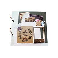Album Handmade Scrapbook Fairy Corner A Moment in Time