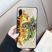 Ốp lưng cứng viền dẻo dành cho điện thoại Samsung Galaxy A7 2018/A750 - hình Điêu Khắc MS DKHAC034 - Hàng Chính Hãng