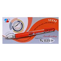 Hộp 20 Bút Thiên Long TL025 (Đỏ) - VPP Tuệ Phát
