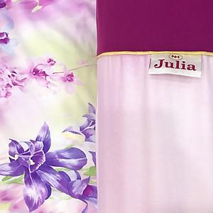 Bộ chăn drap gối lụa tencel Julia 849BM16 không chần gòn 160 x 200 x 28 cm