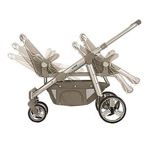 Xe đẩy đôi Brevi Ovo Twin BRE781