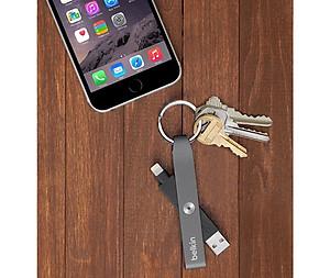 Cáp Lightning cho iPhone và iPad Belkin F8J172btGLD