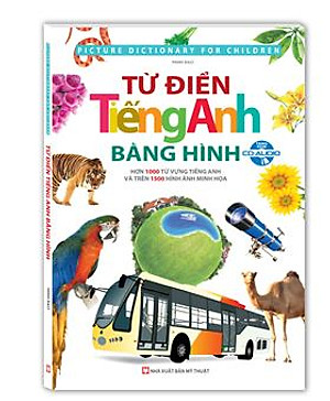 Từ Điển Tiếng Anh Bằng Hình (Kèm CD)