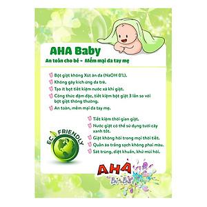 Bột giặt cao cấp AHA Baby