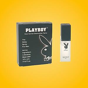 Chai xịt Playboy chống xuất tinh sớm [QC-Tiki]