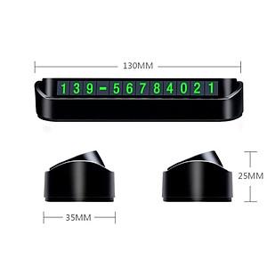 Bảng số điện thoại trên ô tô nhãn hiệu Baseus ACNUM-DD01