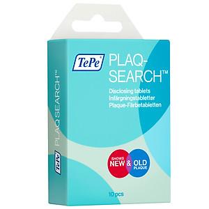 Chất kiểm soát mảng bám răng Tepe Plaqsearch Hộp 10 viên [QC-Tiki]