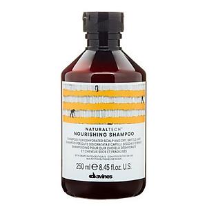 DAVINES Naturaltech Nourishing shampoo Italy 250ml - Dầu gội dưỡng ẩm bảo vệ tóc khô hư tổn [QC-Tiki]