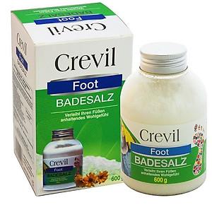 Muối ngâm chân cho người bị đau nhức xương khớp, mất ngủ Crevil Foot Badesalz 600g [QC-Tiki]