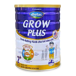 HỘP SỮA BỘT VINAMILK DIELAC GROW PLUS (XANH) 2+ 900G (CHO TRẺ TỪ 2 - 10 TUỔI)