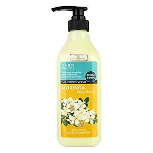 Sữa tắm trắng mịn da Hàn Quốc hương hoa chùm ngây thơm mát quyến rũ Dabo Moringa (750ml) – Hàng Chính Hãng [QC-Tiki]