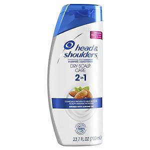 Dầu gội và xả Head & Shouders Dry Scalp Care 2in1 700ml [QC-Tiki]