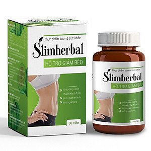 Thực Phẩm Bảo Vệ Sức Khỏe SLIMHERBAL [QC-Tiki]