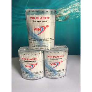 Tăm nhựa nha khoa (Hộp 300 tăm) Conbo 3 hộp [QC-Tiki]