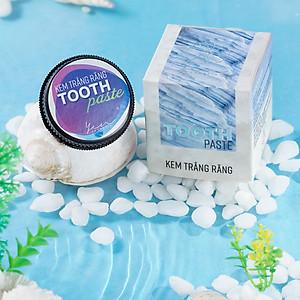Bột tẩy trắng răng thảo mộc Tooth Paste [QC-Tiki]