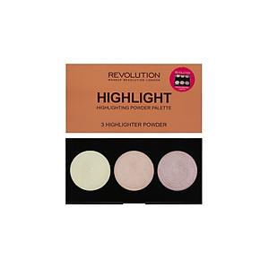 Highlight Makeup Revolution highlight powder palette (Dạng bảng) [QC-Tiki]