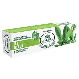 Kem Đánh Răng L'Angelica Toothpaste - Tea Tree Oil - Tinh chất trà xanh [QC-Tiki]