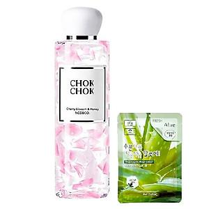 Sữa Tắm Dưỡng Ẩm Sáng Da Chok Chok Silk Cherry Blossom & Honey (Được Mask 3W) [QC-Tiki]