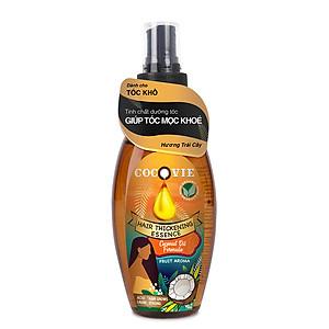 Tinh Chất Phục Hồi Tóc Hư Tổn - Hair Repair Essence nhiều loại hương: hương hoa, hương trái cây có kết hợp bổ sung Vitamin E và acid lauric trong dầu dừa  thẩm thấu vào từng sợi tóc hư tổn. [QC-Tiki]