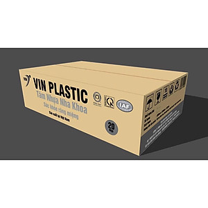 Tăm nhựa nha khoa (Thùng 20 lốc x lốc 25 túi x túi 100 tăm) [QC-Tiki]