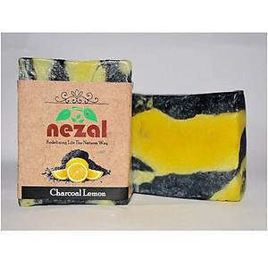 Xà phòng Nezal than hoạt tính và chanh  - Charcoal & Lemon [QC-Tiki]