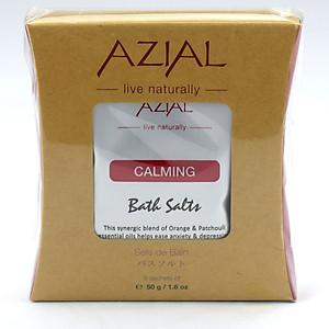 Muối Tắm 100% Thiên Nhiên Tinh Dầu Cam Ngọt Và Hoắc Hương AZIAL Bath Salts Calming 1000g [QC-Tiki]