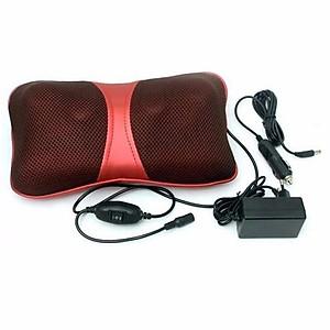 Gối Massage Hồng Ngoại 6 Bi Magic Pillow PL-818 thế hệ mới [QC-Tiki]