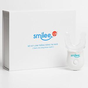 Bộ tẩy trắng răng tại nhà Smilee - Nhập khẩu USA - Làm trắng răng lên từ 3 - 6 tone chỉ với 20 phút - Đạt chuẩn ISO 22716:2007 [QC-Tiki]