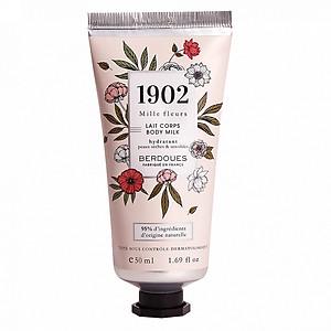 Sữa Dưỡng Thể Hương Nước Hoa Pháp Berdoues 1902 Mille Fleurs Body Milk 50ml [QC-Tiki]