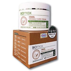 Kem chăm sóc da thảo dược Hàn Quốc Snail Wrinkle Care Cream(BIOmax) [QC-Tiki]