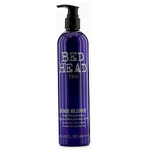 Dầu Gội Tigi Bed Head Dumb Blonde Purple Toning Shampoo Tím Khử Ánh Vàng Cho Tóc Bạch Kim Mỹ 400ml [QC-Tiki]