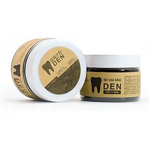 Combo 02 hộp Bột chà răng Răng Đen - Sạch cao răng, hết ố vàng làm răng trắng sáng - 100% thành phần từ thiên nhiên [QC-Tiki]