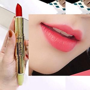 Son GOLD Matte Lipstick 2in1 Mini Garden Màu Hồng Sen [QC-Tiki]
