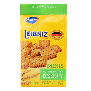 Bánh quy ngũ cốc nguyên hạt Minis Leibniz (100g)