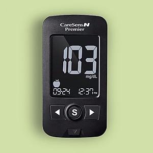 Máy đo tiểu đường  CareSens N Premier - Hàn Quốc [QC-Tiki]