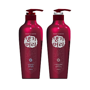 Cặp dầu gội xả thảo dược giảm gãy rụng, chăm sóc tóc hư tổn Daeng Gi Meo Ri Shampoo For Damaged Hair 500ml - Hàn Quốc Chính Hãng [QC-Tiki]