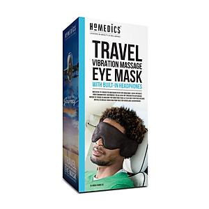 Massage mắt du lịch đi kèm tai nghe - HoMedics Travel eye massager nhập khẩu USA [QC-Tiki]
