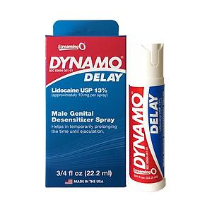 Chai Xịt Dynamo Delay Mỹ - tinh chất kéo dài thời gian không mùi vị nhẹ - ( 22ml ) [QC-Tiki]