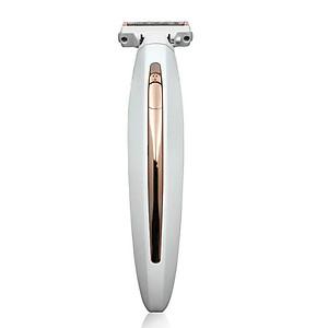 Máy cạo râu, tẩy lông toàn thân kèm pin sạc USB [QC-Tiki]