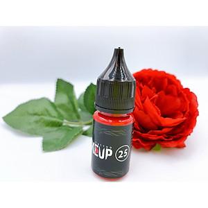 Mực Phun Xăm Makeup 25 - Mực Phun Môi Màu Đỏ Đậm [QC-Tiki]