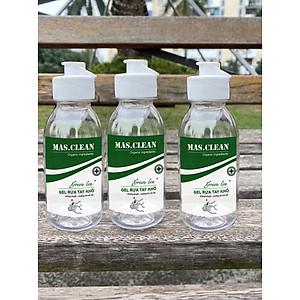 Combo 3 chai Nước rửa tay khô diệt khuẩn Mas Clean 99.99% lọ 100ml [QC-Tiki]