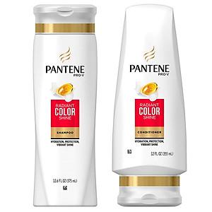 Combo bộ dầu gội xả Pantene Pro-V Radiant Color Shine  dành cho tóc nhuộm - USA [QC-Tiki]