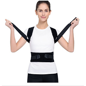 Đai chống gù lưng Backbrace [Kết hợp trị liệu từ tính XL] [QC-Tiki]