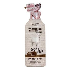 Sữa Dưỡng thể dưỡng trắng và mịn da chống lại tác hại tia UV chiết xuất từ sữa dê Made In Nature 450ml [QC-Tiki]