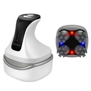 Máy massage đầu cầm tay pin sạc mini 4D 8 đầu B26 - Chống thấm nước [QC-Tiki]